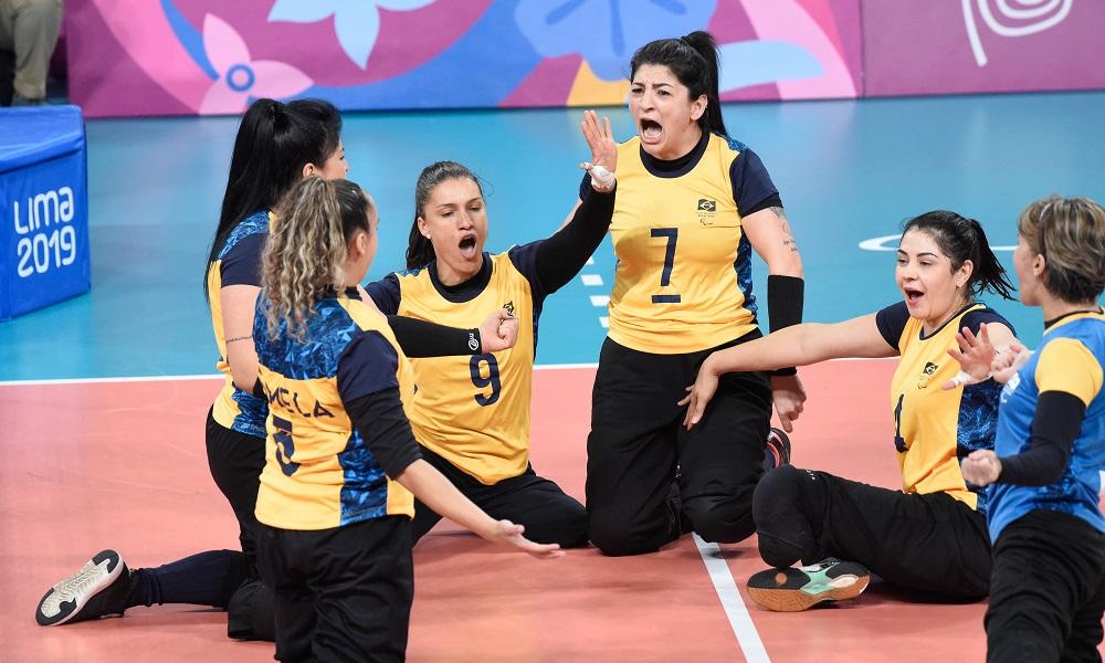 Vôlei: Brasil vence Itália de virada e segue invicto nas Paralimpíadas de Tóquio