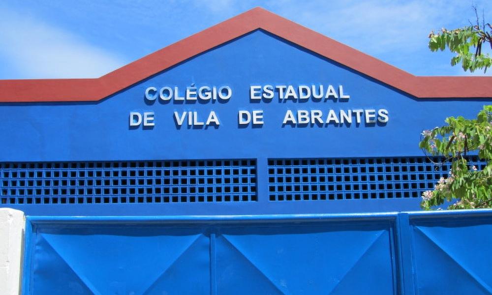 Colégio Estadual de Vila de Abrantes passará por ampliação