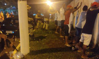 Polícia Militar encerra festa de paredões em Dias d'Ávila