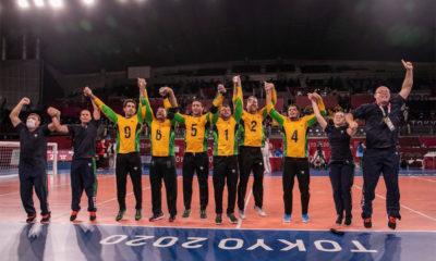 Brasil goleia China e conquista medalha inédita no goalball nas Paralimpíadas