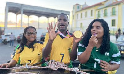Pentacampeão paralímpico do futebol de cinco, candeiense Jefinho completa 15 anos de atuação com a verde e amarela