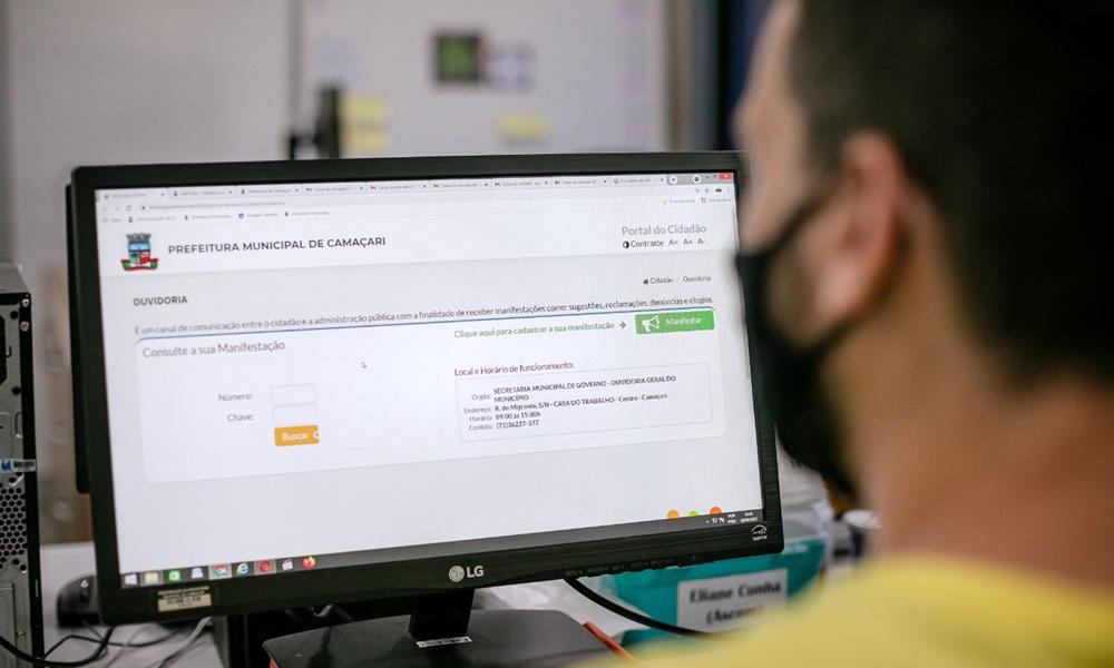 Prefeitura lança novo canal de comunicação online da Ouvidoria-Geral