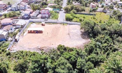 Obras da praça e campo Bosque do Guaraípe são iniciadas em Barra do Jacuípe