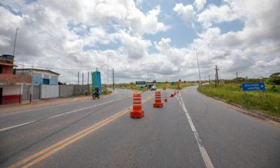 Obras no Viaduto da Cascalheira altera trânsito sentido Avenida Industrial Urbana