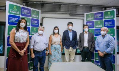 Fábrica chinesa de pás eólicas analisa possibilidade de implantar unidade em Camaçari