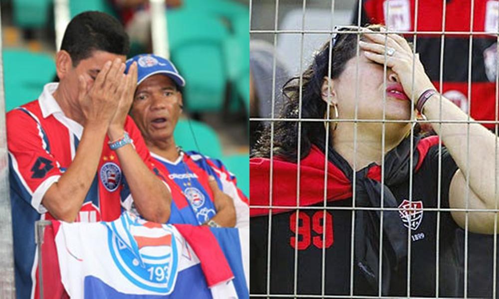 Um sofrimento sem fim e um cenário de caos para os torcedores do Ba-Vi, por Fabio Sena