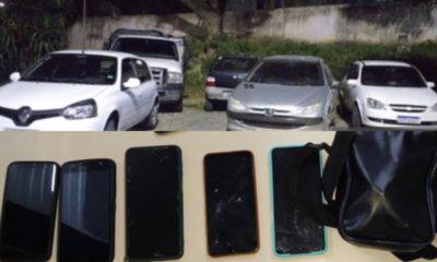 Dupla responsável por roubar dois carros e celulares em Lauro de Freitas é presa