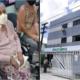 Com elevador quebrado, idosa em cadeira de rodas é carregada para ser atendida na Policlínica de Camaçari