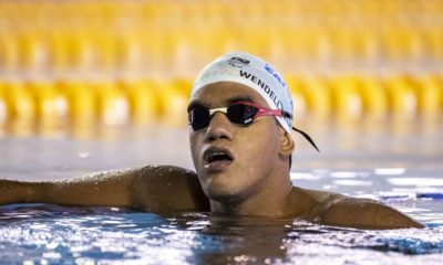 Wendell Belarmino arranca no final e garante bronze nos 100m borboleta