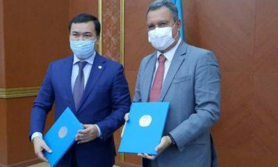 Rui Costa firma acordo comercial com estado do Cazaquistão