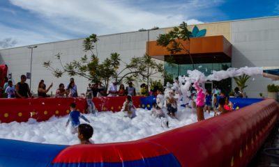 Dia das Crianças: Boulevard Shopping terá banho de espuma, gincana e parque inflável