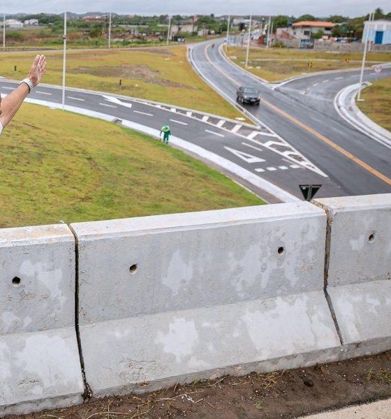 Elinaldo autoriza liberação total do sistema viário do Trevo da Cascalheira