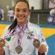 Matense Lavínia Figueiredo conquista título baiano de judô e vai em busca do brasileiro