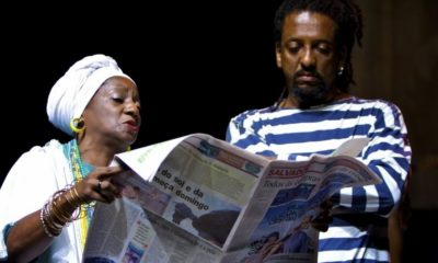 Bando de Teatro Olodum apresenta stand-up 'Bando Politicamente Incorreto?' na internet