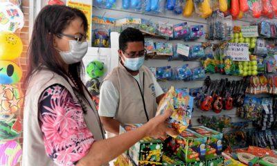 Codecon realiza operação Dia das Crianças no comércio de rua e shoppings de Salvador