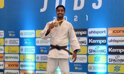 Baiano Paulo Cruz é bicampeão de judô nos JUBs em Brasília