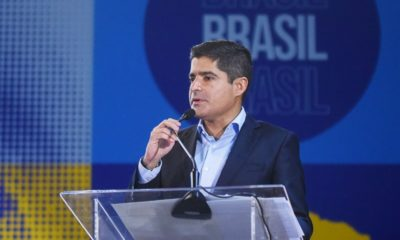 Secretário-geral do União Brasil, ACM Neto afirma que legenda está alinhada com defesa da democracia
