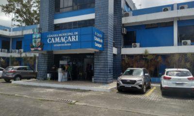 Câmara de Camaçari publica novo contrato de locação de veículos com 22 carros