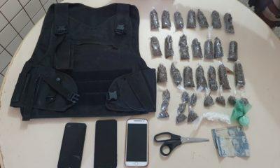 Dois homens são presos por tráfico de drogas no bairro da Urbis em Dias d'Ávila
