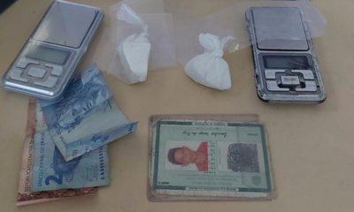 Homem é preso com cocaína e duas balanças de precisão em Dias d'Ávila