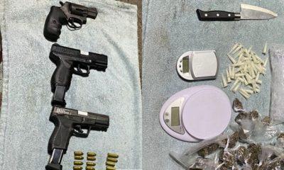 Operação da Cipe/Polo e Graer resulta na apreensão de um adolescente, drogas e armas em Dias d'Ávila