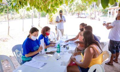 Sedap atende moradores da Lagoa da Prainha nesta quarta-feira