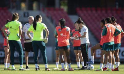 Seleção Feminina finaliza preparação para enfrentar Austrália nesta terça-feira